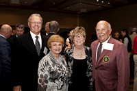 Terry and Pat Duncan alongside Gary and Nancy Conover